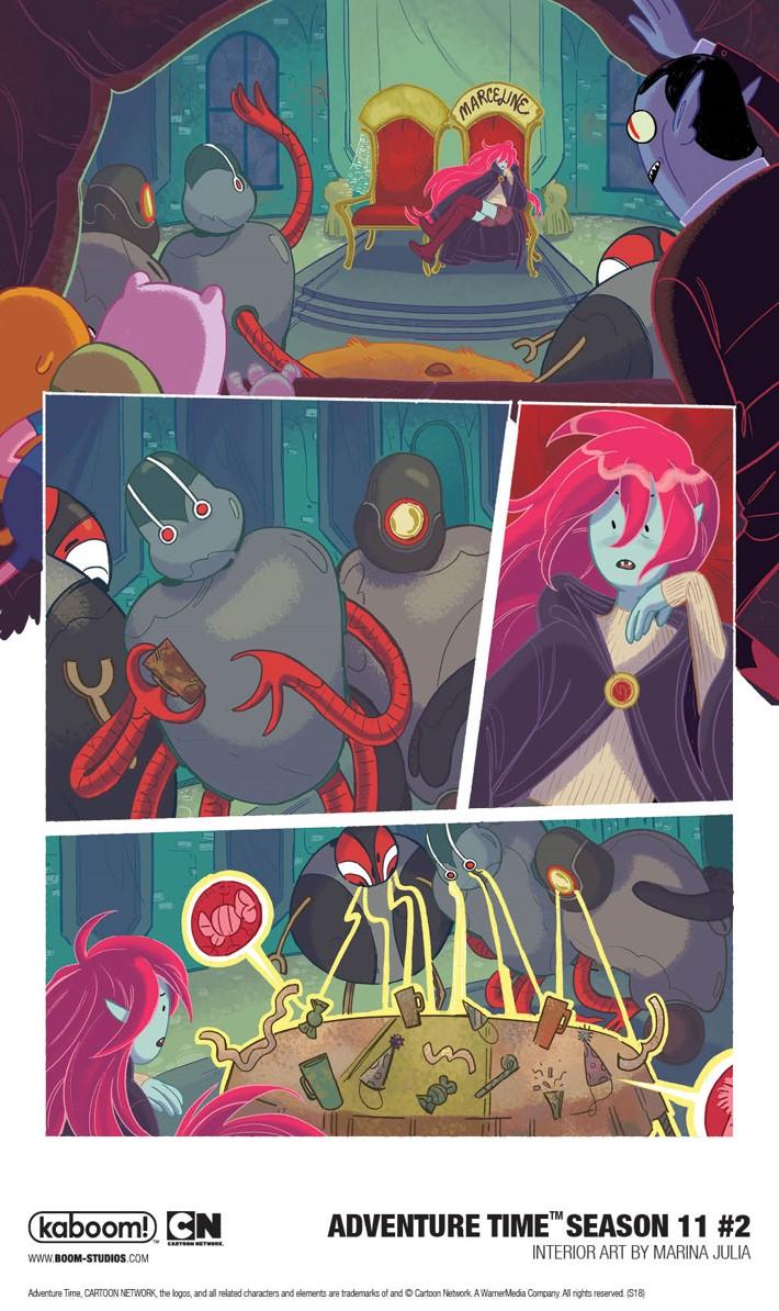 AdventureTime_Season11_002_InteriorArt4_PROMO First Look at BOOM! Studios' ADVENTURE TIME SEASON 11 #2