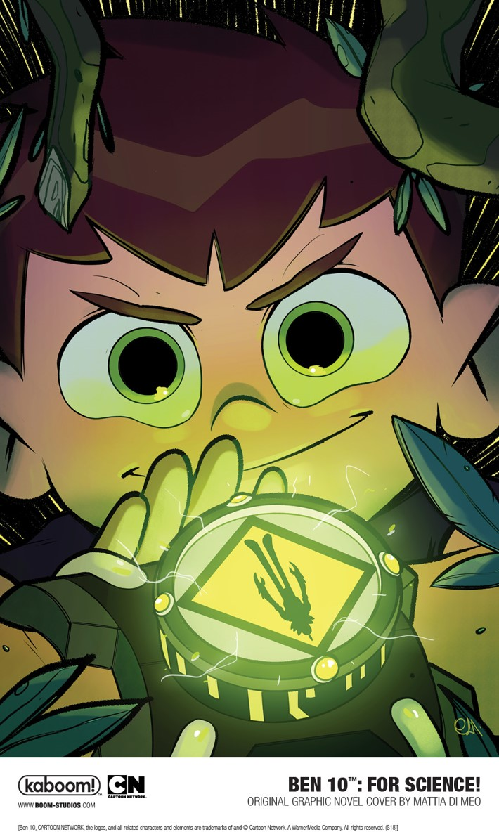 BEN10_ForScienceOGN_Vol2_Main_PROMO First Look at BOOM! Studios' BEN 10: FOR SCIENCE! GN