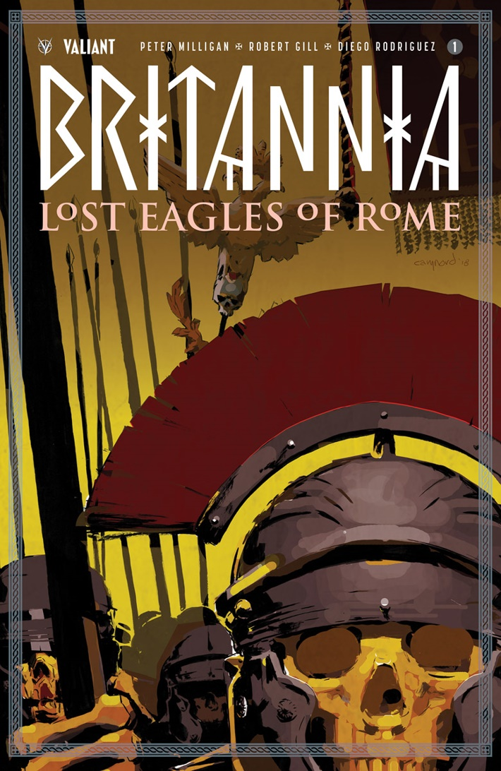 BRITANNIA3_001_COVER-A_NORD First Look at Valiant Entertainment's BRITANNIA LOST EAGLES OF ROME #1