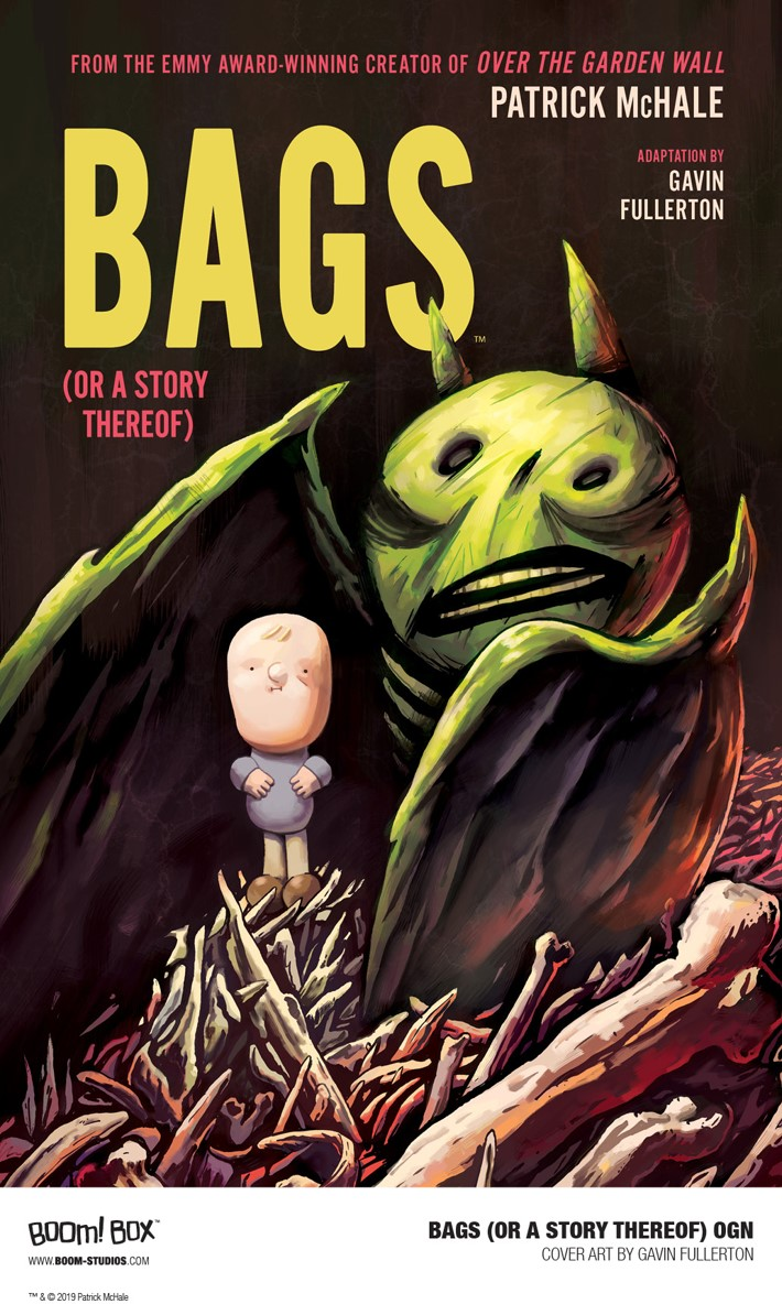 Bags_OGN_Cover_PROMO First Look at BOOM! Studios' BAGS (OR A STORY THEREOF) GN