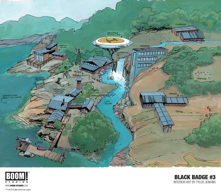 BlackBadge_003_InteriorArt4-5_PROMO First Look at BOOM! Studios' BLACK BADGE #3