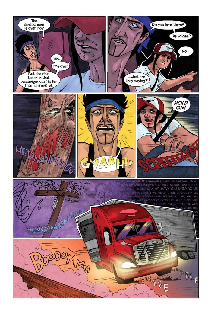 Brother-Nash-Interior-Art-3 Titan Comics to publish Bridgit Connell's creator-owned BROTHER NASH