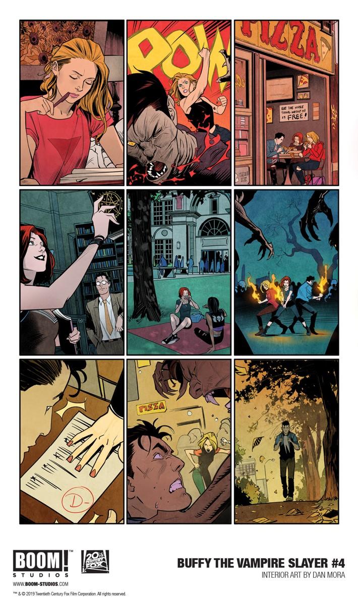 Buffy_004_InteriorArt_001_PROMO First Look at BOOM! Studios' BUFFY THE VAMPIRE SLAYER #4