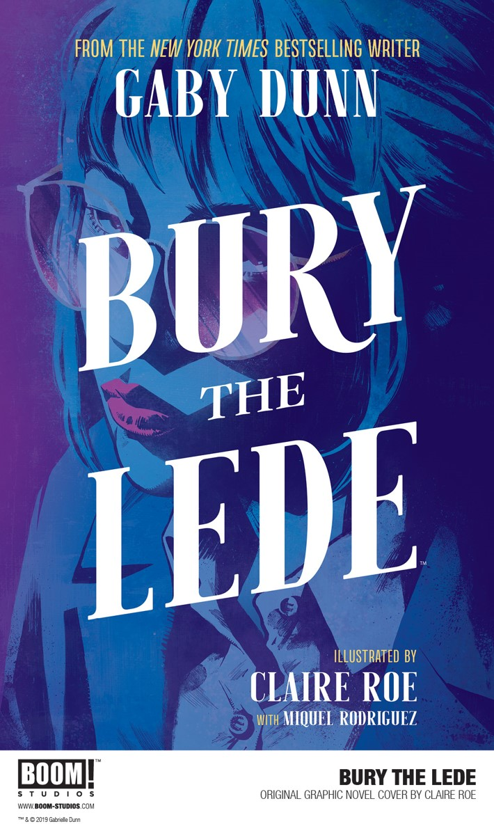BuryTheLede_OGN_Cover_PROMO First Look at BOOM! Studios' BURY THE LEDE GN