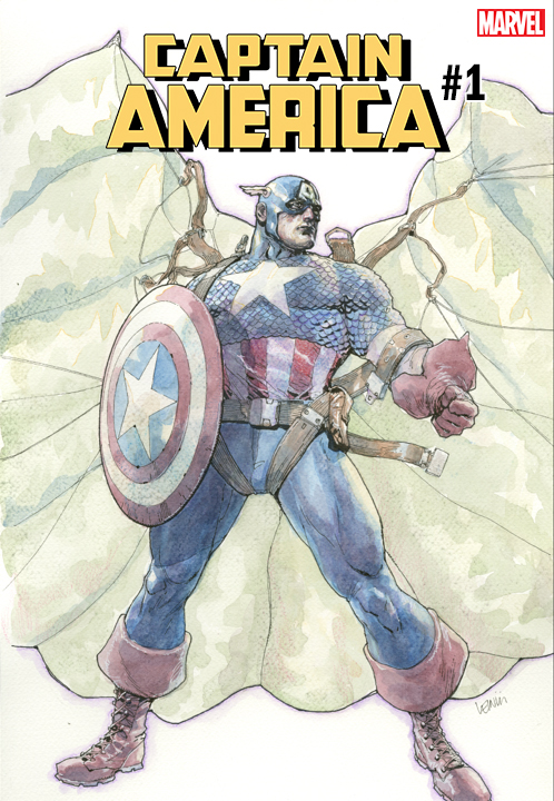 CAPAM001_VAR_YU You are going to want this Leinil Francis Yu CAPTAIN AMERICA #1 variant