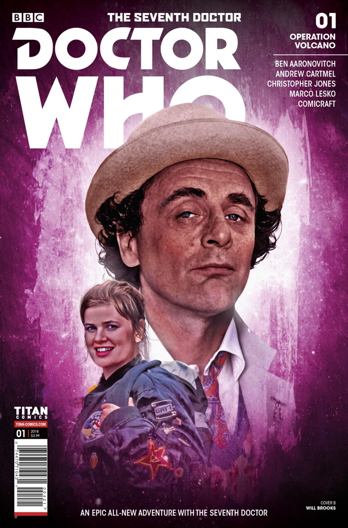 DW_7D_COVER_B_WILL_BROOKS The Seventh Doctor and Ace return in a comic mini-series