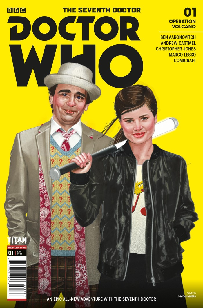 DW_7D_COVER_D_SIMON_MYERS The Seventh Doctor and Ace return in a comic mini-series