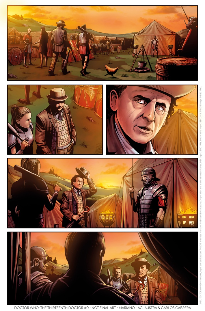 DW_MANY_LIVES_7D_MARIANO_LACLAUSTRA_CARLOS_CABRERA The Doctor's lives are revisited in THE THIRTEENTH DOCTOR #0