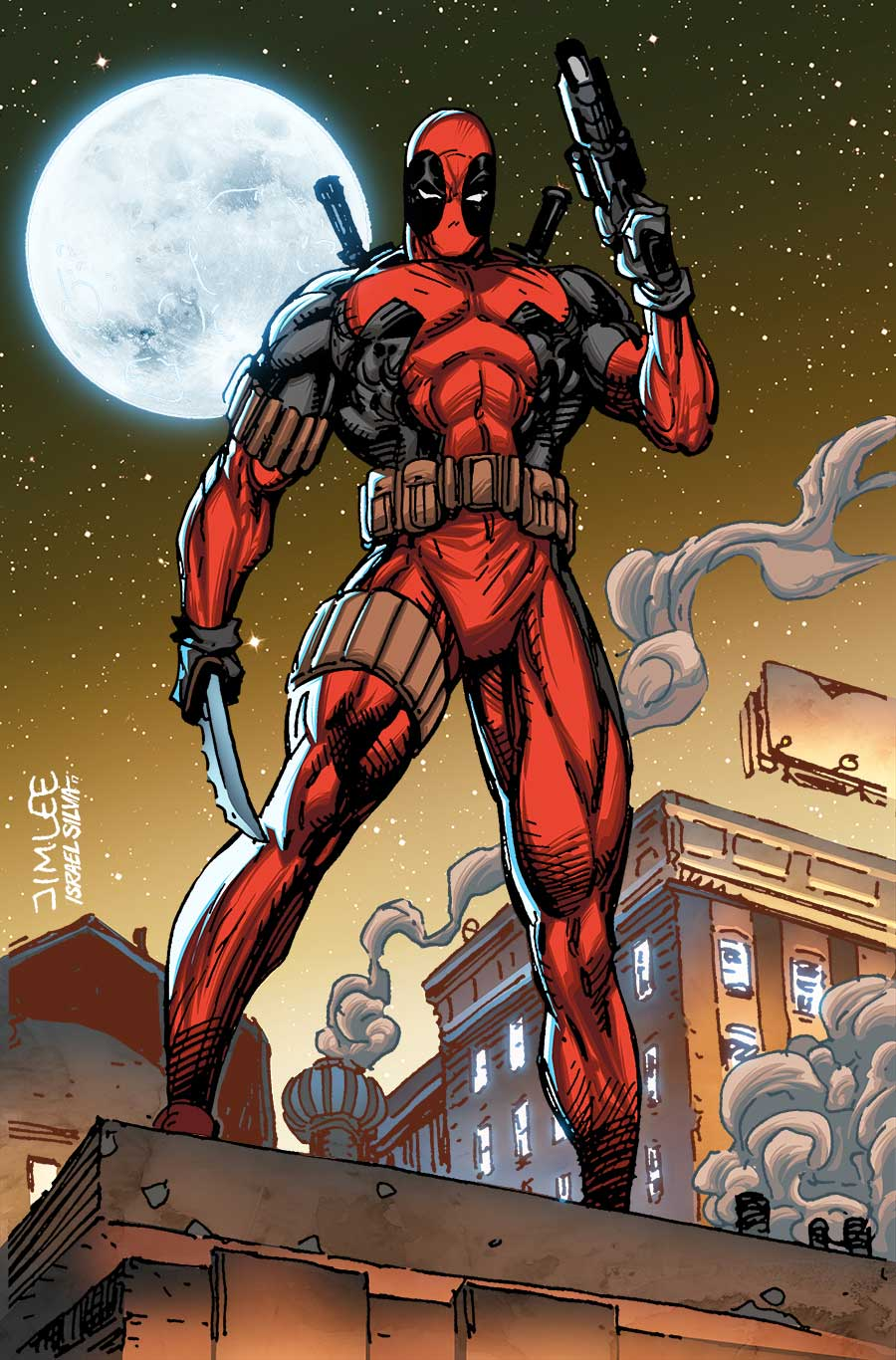 Deadpool_33_X-Men_Trading_Card_Variant July brings astonishing Jim Lee X-MEN TRADING CARD VARIANT COVERS