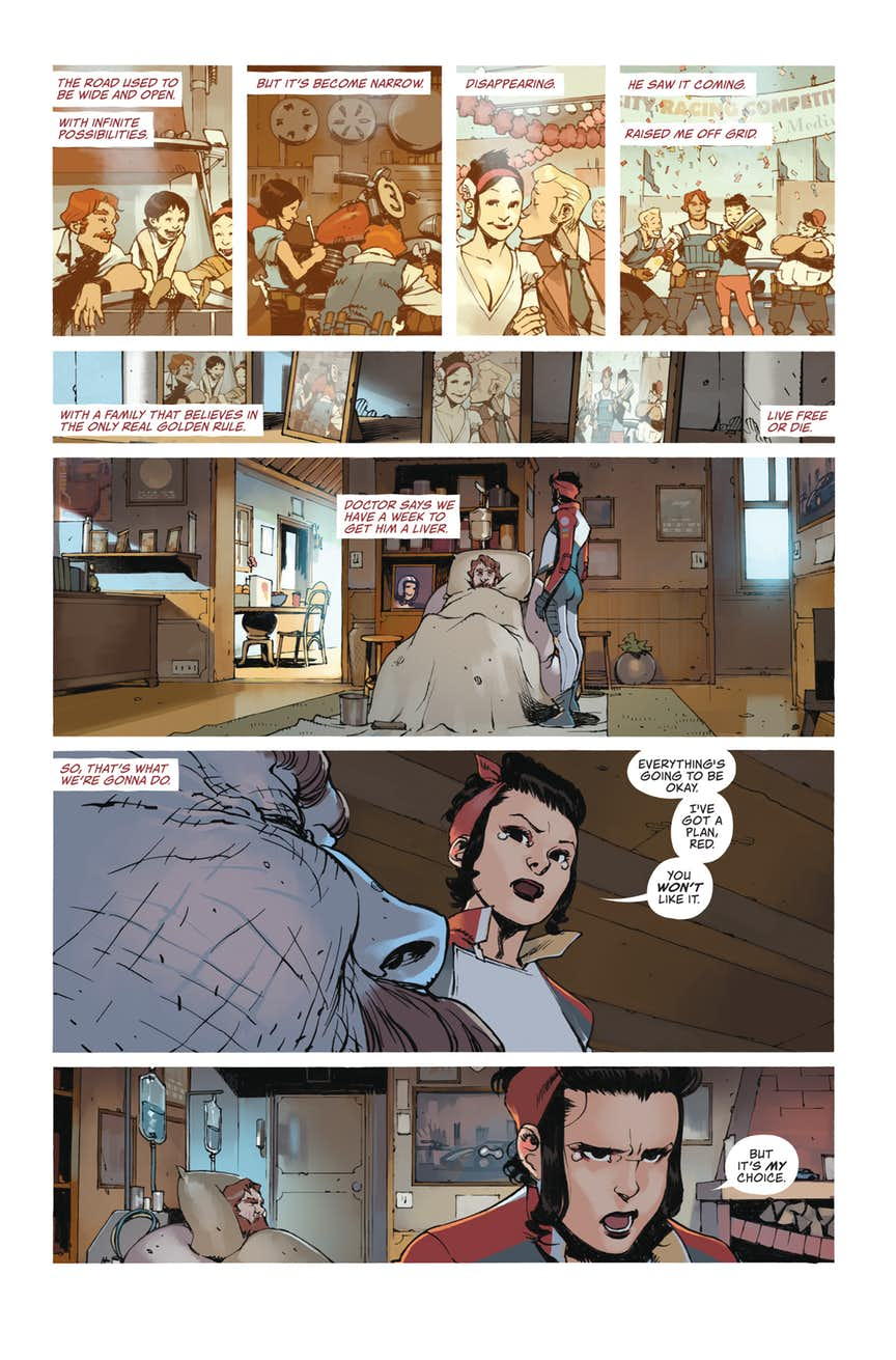 DoG-Preview-page-1 ComicList Previews: DEATH OR GLORY #1