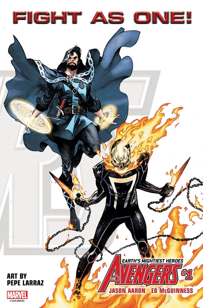 FIGHTASONE_DRS_GR The all-new Avengers roster to include Doctor Strange and Ghost Rider