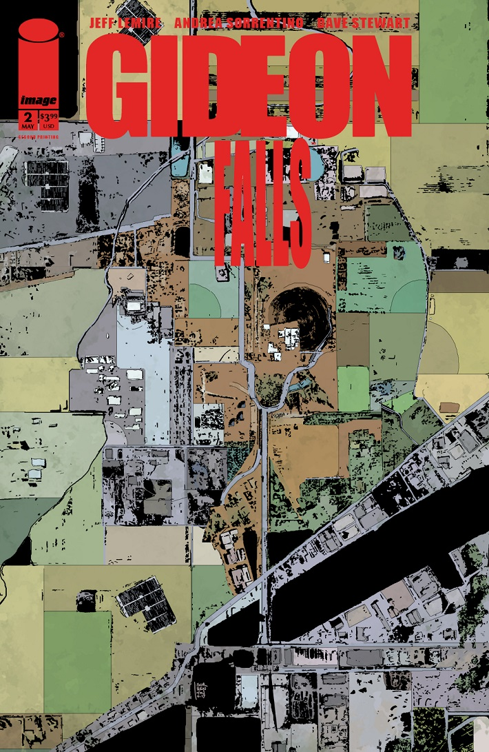 GideonFalls-02-2ndP-Cover GIDEON FALLS #2 returns with a second printing