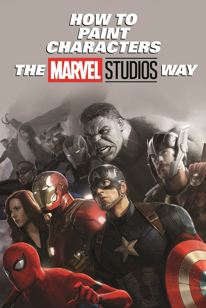 HOWTOMCUHC_COV Celebrate the Marvel Cinematic Universe by painting characters