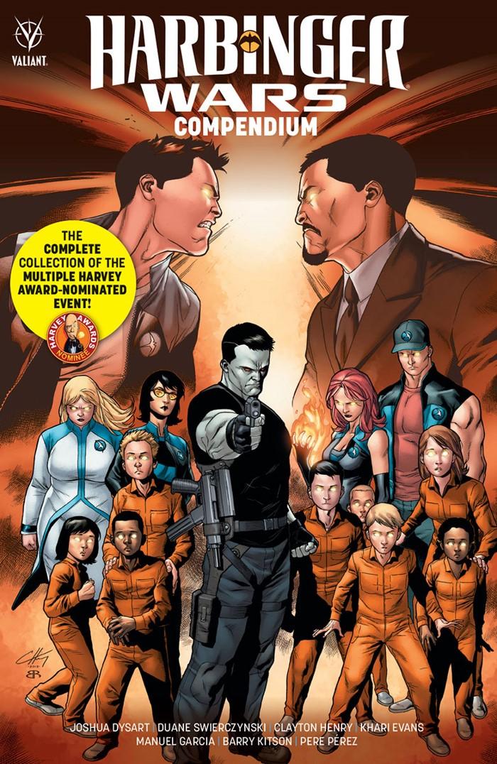 HW-COMPENDIUM_TPB_COVER_HENRY Groundbreaking comics event is collected in HARBINGER WARS COMPENDIUM