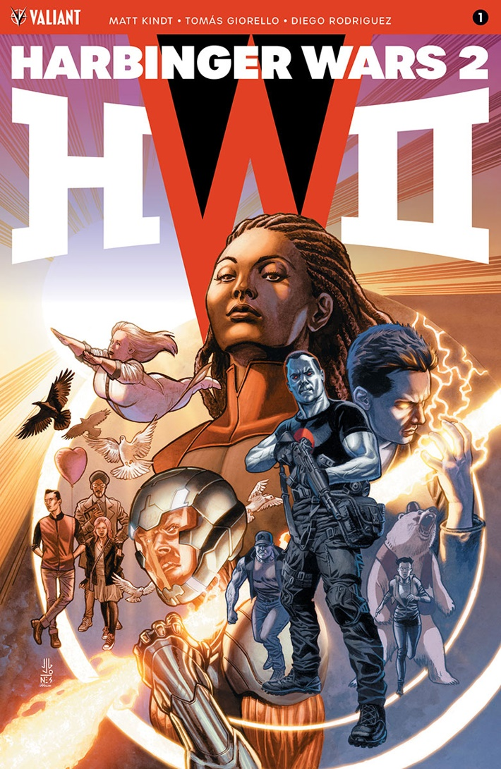 HW2_001_COVER-A_JONES First Look at Valiant Entertainment's HARBINGER WARS 2 #1