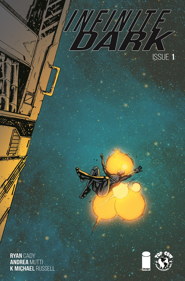 ID001_Cov2 Sinister ongoing science-fiction series INFINITE DARK debuts in October