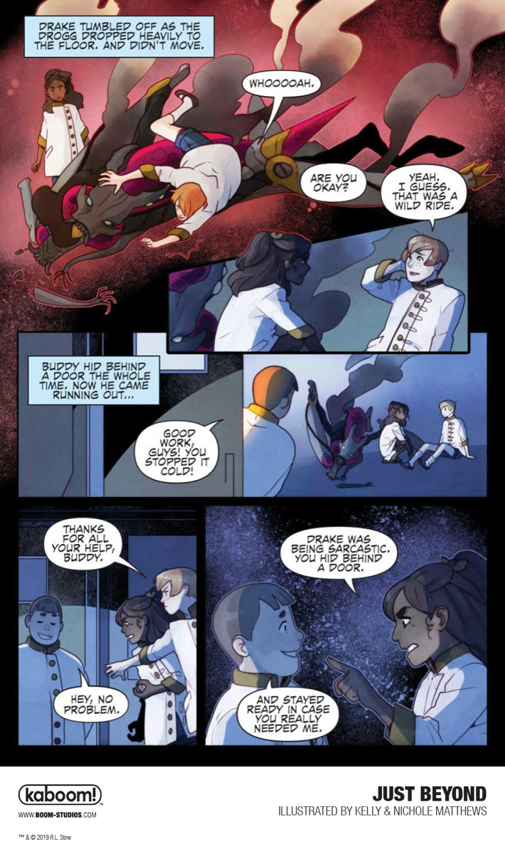 JustBeyond_OGN_InteriorArt_019_PROMO First Look at BOOM! Studios' JUST BEYOND: THE SCARE SCHOOL GN