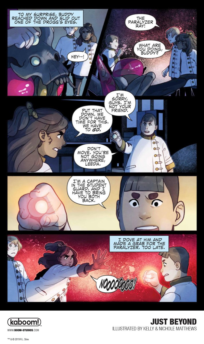 JustBeyond_OGN_InteriorArt_021_PROMO First Look at BOOM! Studios' JUST BEYOND: THE SCARE SCHOOL GN