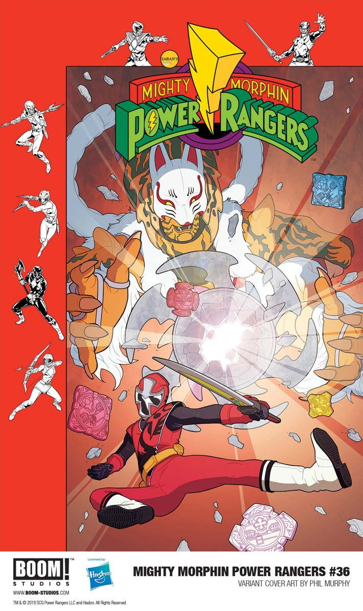 MMPR_036_Variant_Murphy_PROMO First Look at BOOM! Studios' MIGHTY MORPHIN POWER RANGERS #36