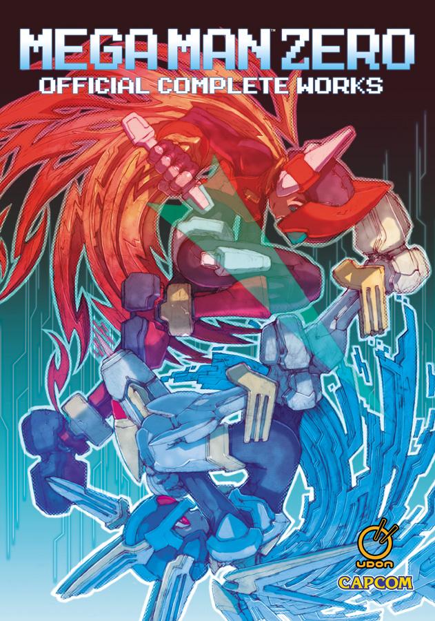 MegaManZero_HC_cover UDON Entertainment announces MEGA MAN ZERO: OFFICIAL COMPLETE WORKS