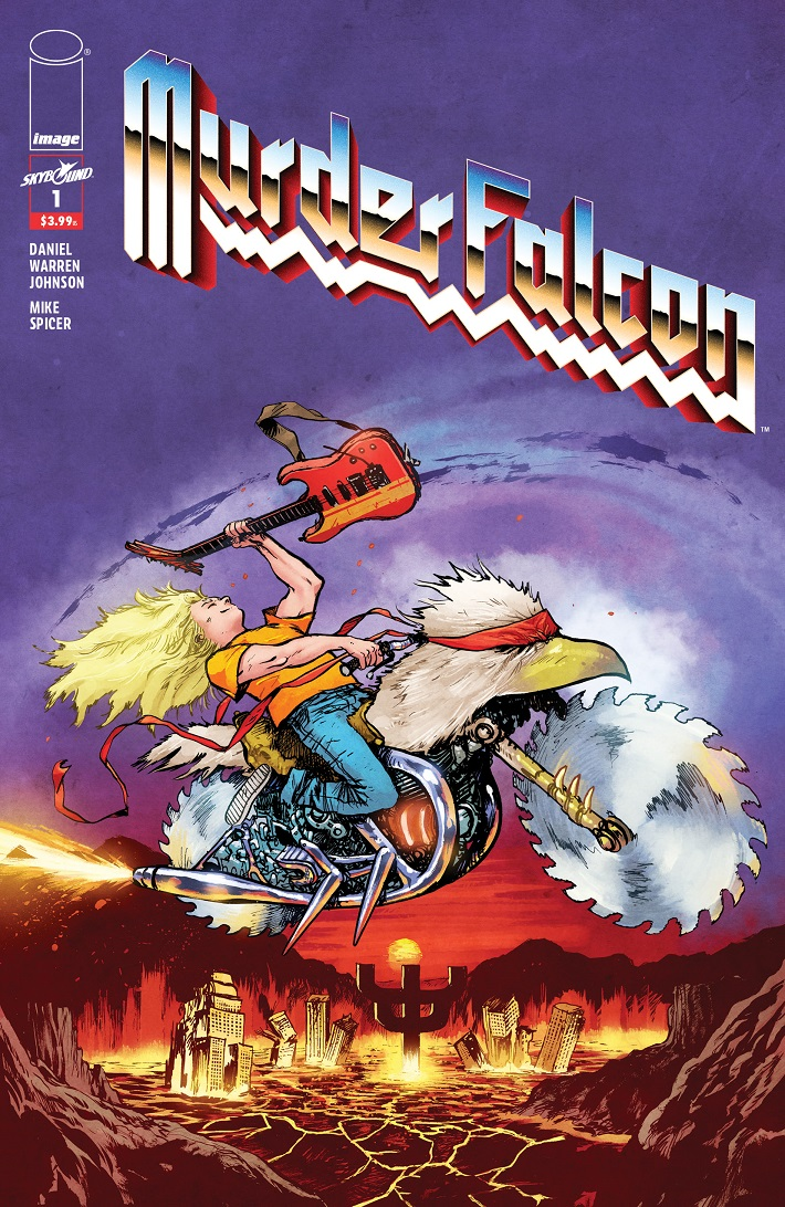 MurderFalcon01_HeavyMetalVariant Each issue of MURDER FALCON to feature Heavy Metal variants