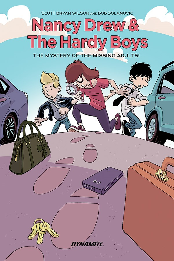 NancyDrewOGN-Cov Nancy Drew and The Hardy Boys team up this June