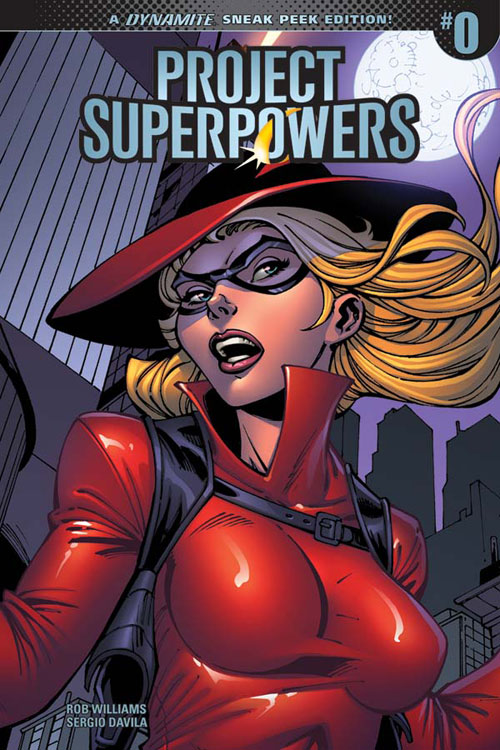 PSP2018-00-Cov-00021-B-Incen10-RoyleSneakPeek Dynamite Entertainment and Rob Williams revive PROJECT SUPERPOWERS