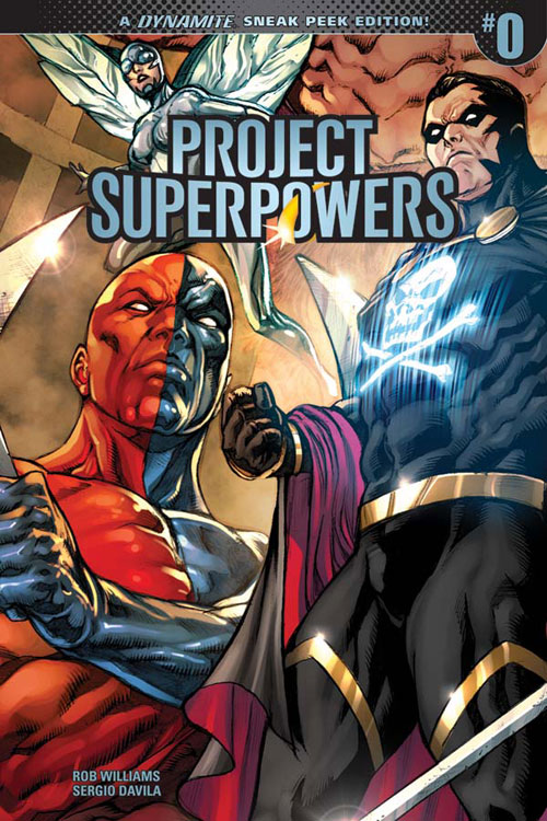 PSP2018-00-Cov-00041-D-Incen30-DavilaSneakPeek Dynamite Entertainment and Rob Williams revive PROJECT SUPERPOWERS