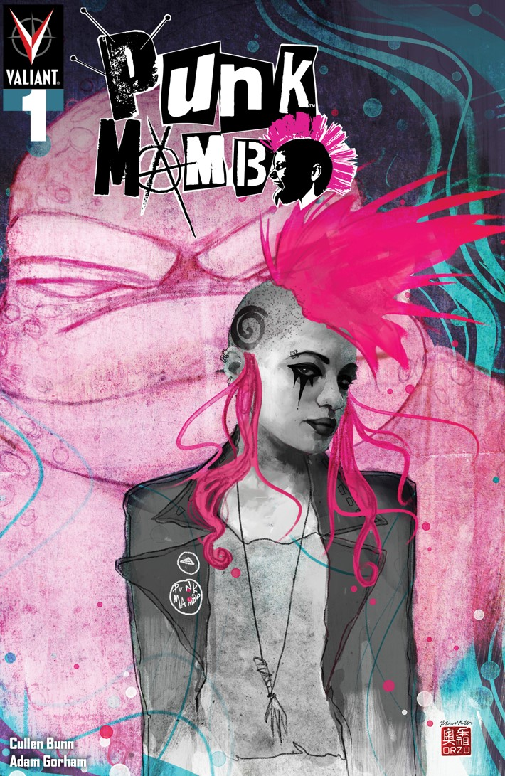 PUNK_001_COVER-B_ORZU PUNK MAMBO #1-5 Pre-Order Bundle to contain free song download