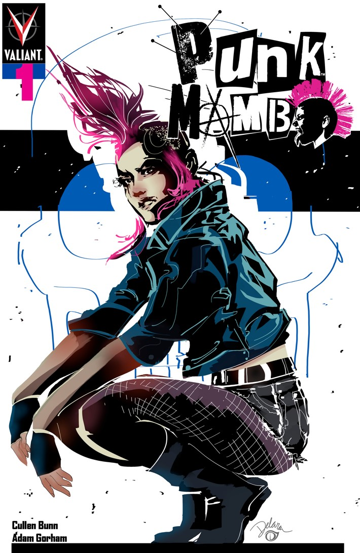 PUNK_001_COVER-C_DELARA PUNK MAMBO #1-5 Pre-Order Bundle to contain free song download