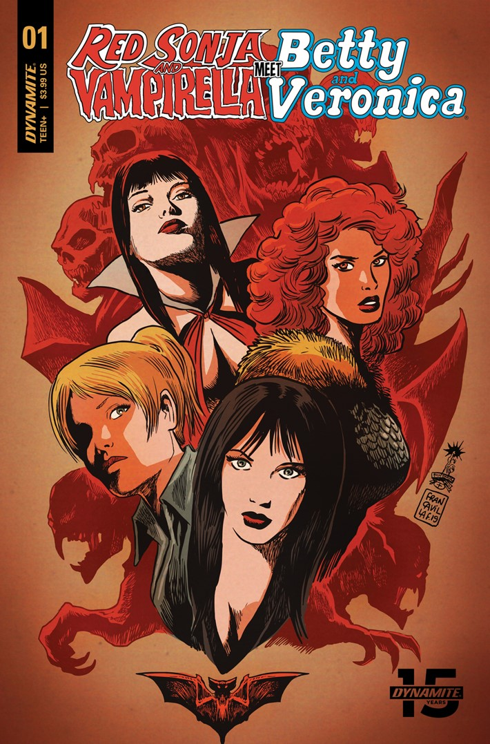 RedSonja-Vampi-Betty-Veronica-001-Cov-01021-B-Francavilla Betty And Veronica enter the Dynamite Universe this May