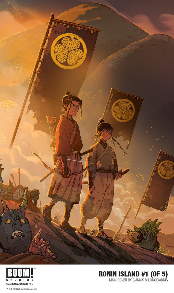RoninIsland_001_Main_PROMO First Look at BOOM! Studios' RONIN ISLAND #1​