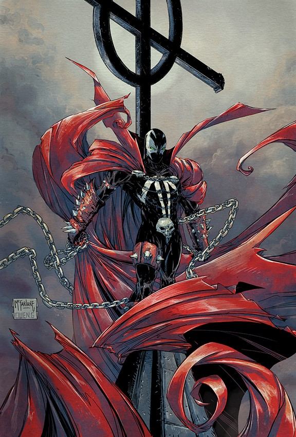 SPAWN_286_Owen_Gieni_cover_E #WeBelieve in Colorists Appreciation variants for SPAWN #286 revealed