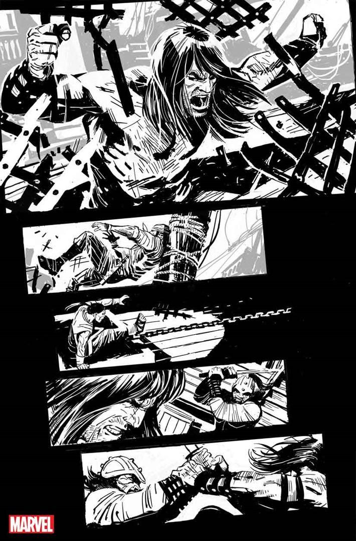 SSCONAN001 Conan's THE CULT OF KOGA THUN returns in black and white