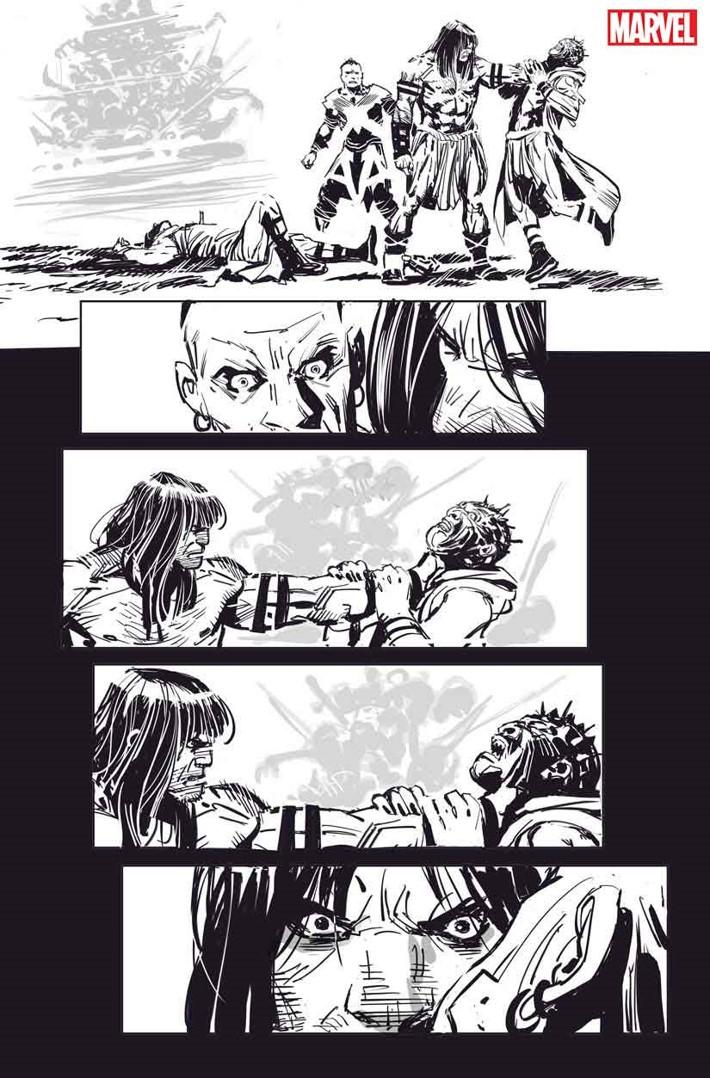 SSCONAN003 Conan's THE CULT OF KOGA THUN returns in black and white