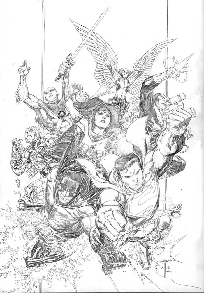 STL090795 DC announces new variant covers for JUSTICE LEAGUE #1