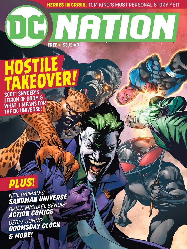 STL097280 DC NATION #3 arrives in comics shops August 1