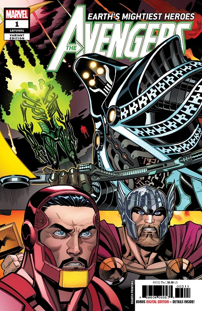 STL099396 ComicList: Marvel Comics New Releases for 08/29/2018