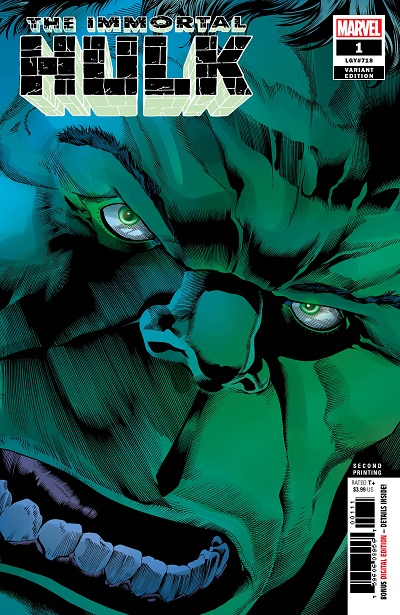 STL099403 ComicList: Marvel Comics New Releases for 08/29/2018
