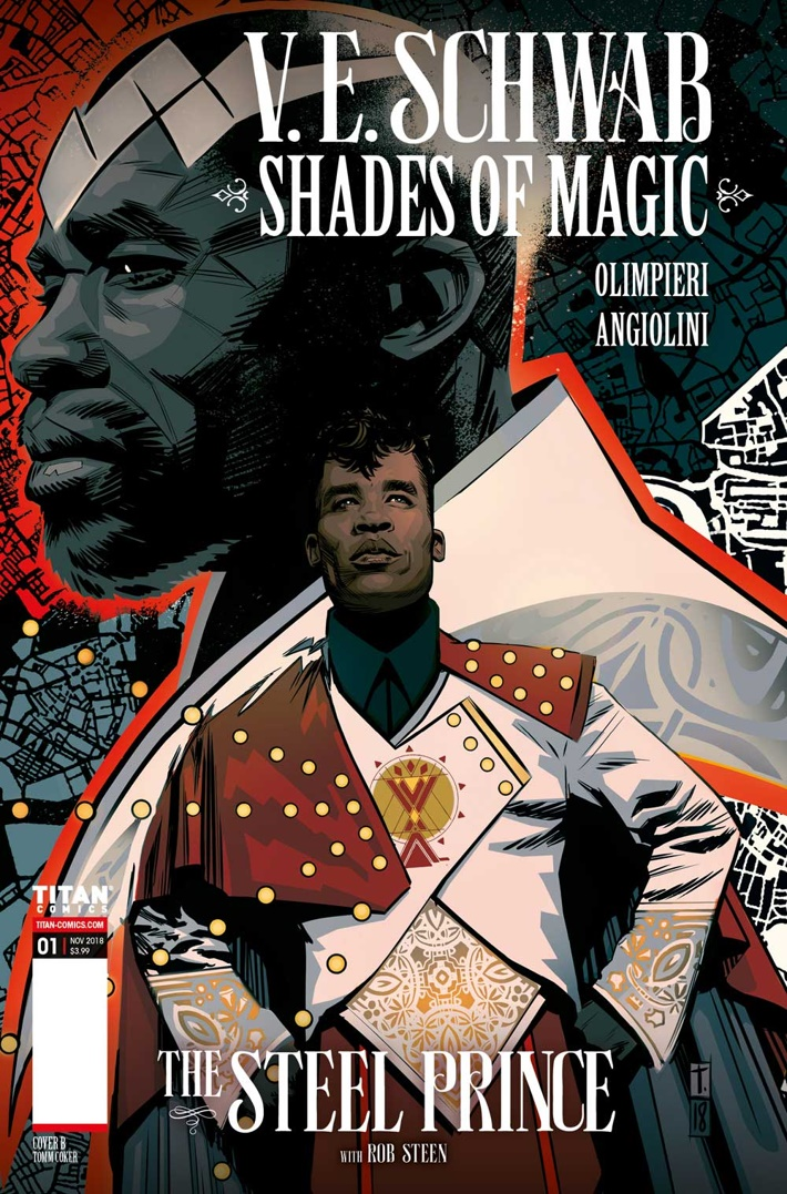 ShadesOfMagic_01_TheSteelPrince_CoverB First Look at Titan Comics' SHADES OF MAGIC THE STEEL PRINCE #1