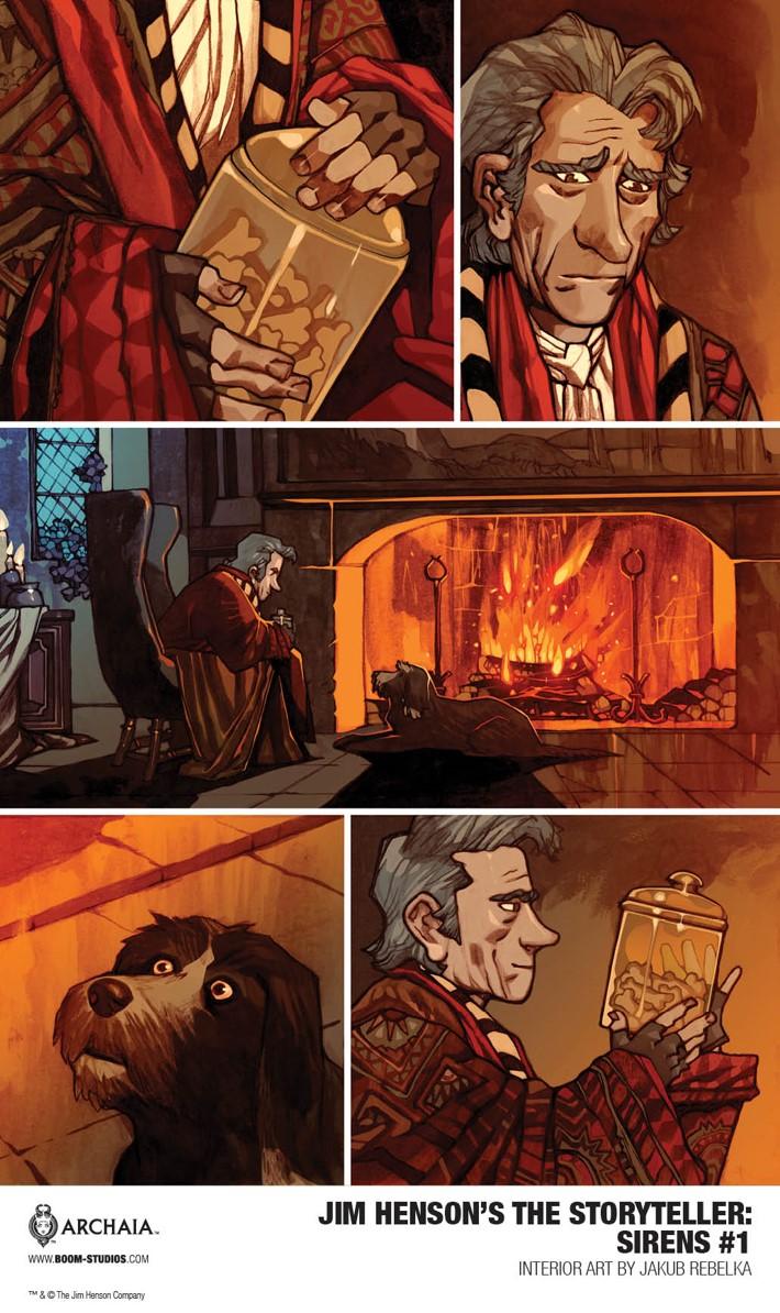 Sirens_001_InteriorArt1_PROMO First Look at BOOM! Studios' JIM HENSON'S THE STORYTELLER SIRENS #1