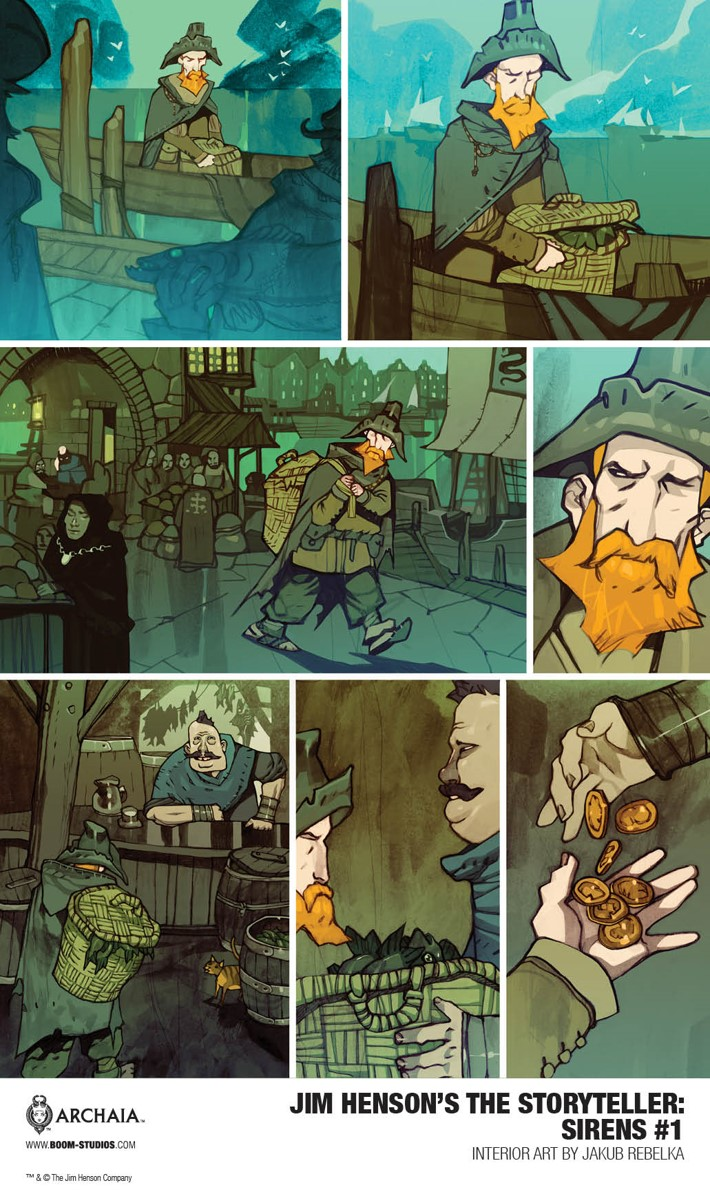 Sirens_001_InteriorArt4_PROMO First Look at BOOM! Studios' JIM HENSON'S THE STORYTELLER SIRENS #1