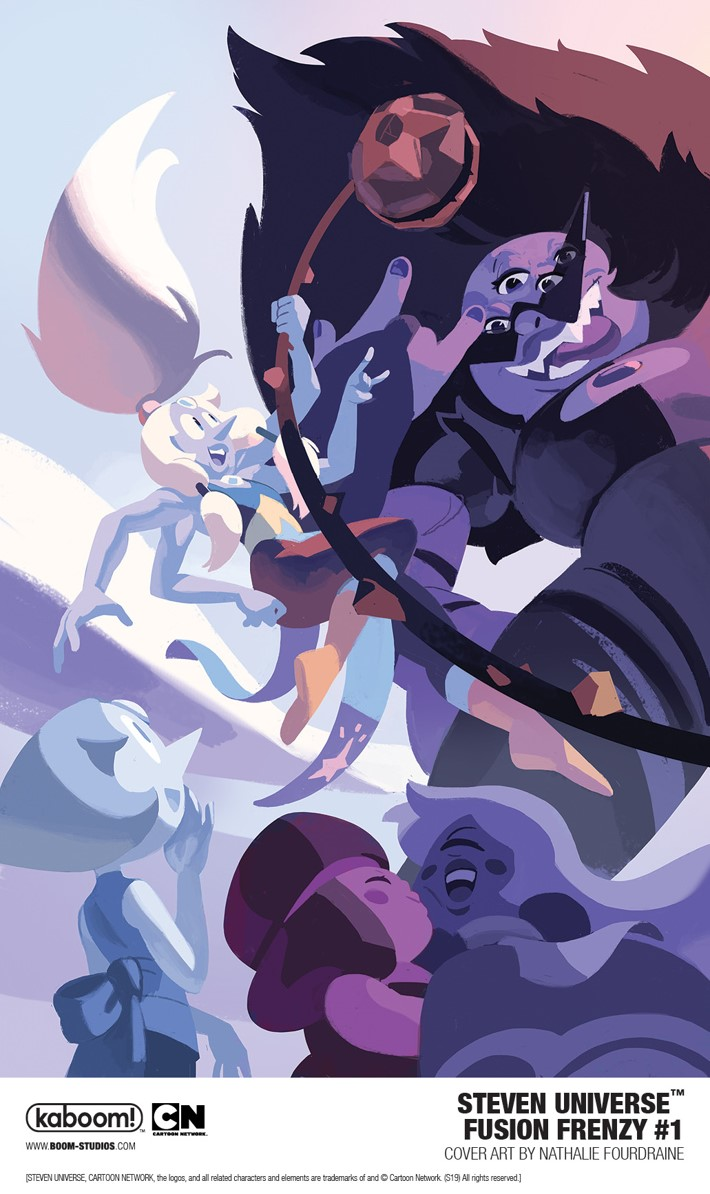 StevenUniverse_FusionFrenzy_001_CoverMainA_PROMO First Look at BOOM! Studios' STEVEN UNIVERSE FUSION FRENZY #1