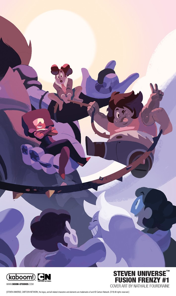 StevenUniverse_FusionFrenzy_001_CoverMainB_PROMO First Look at BOOM! Studios' STEVEN UNIVERSE FUSION FRENZY #1
