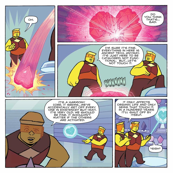 StevenUniverse_Harmony_001_PREVIEW2_PREVIEW First Look at BOOM! Studios' STEVEN UNIVERSE HARMONY #1
