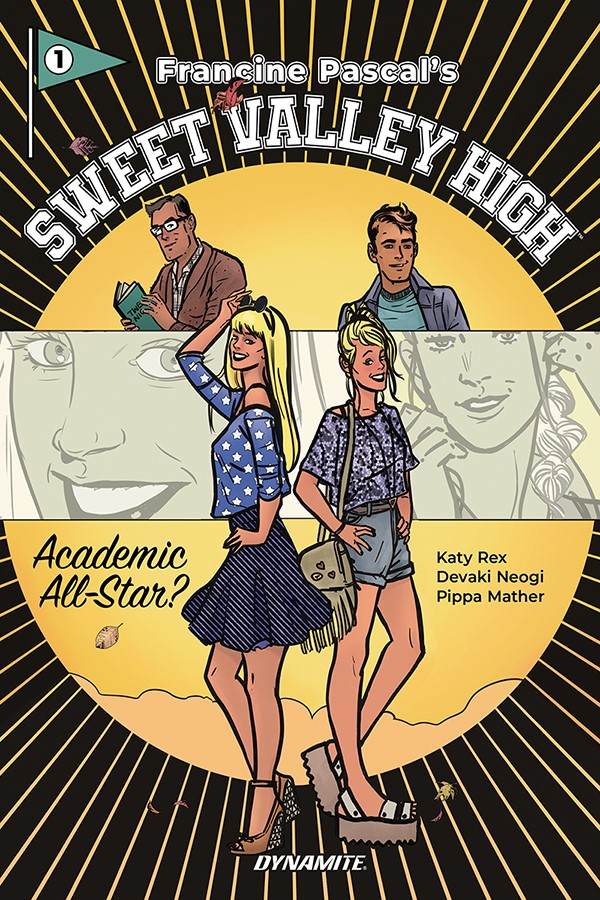 SweetValleyHigh-Cover-Mockup-REVsize Dynamite to publish first SWEET VALLEY HIGH graphic novel