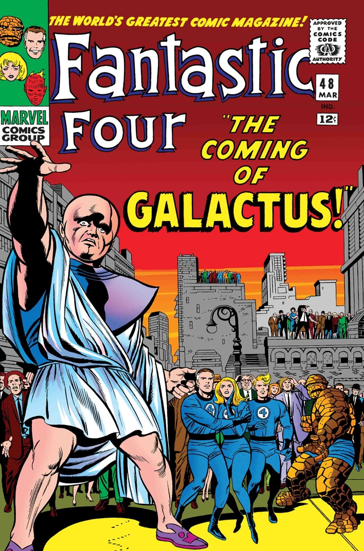 TB_FF_COMING_OF_GALACTUS The First Family returns in TRUE BELIEVERS: FANTASTIC FOUR reprints