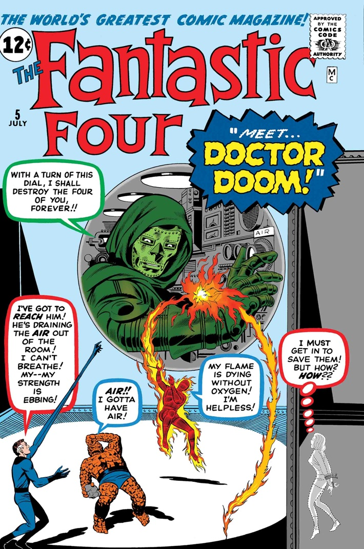 TB_FF_DOOM The First Family returns in TRUE BELIEVERS: FANTASTIC FOUR reprints