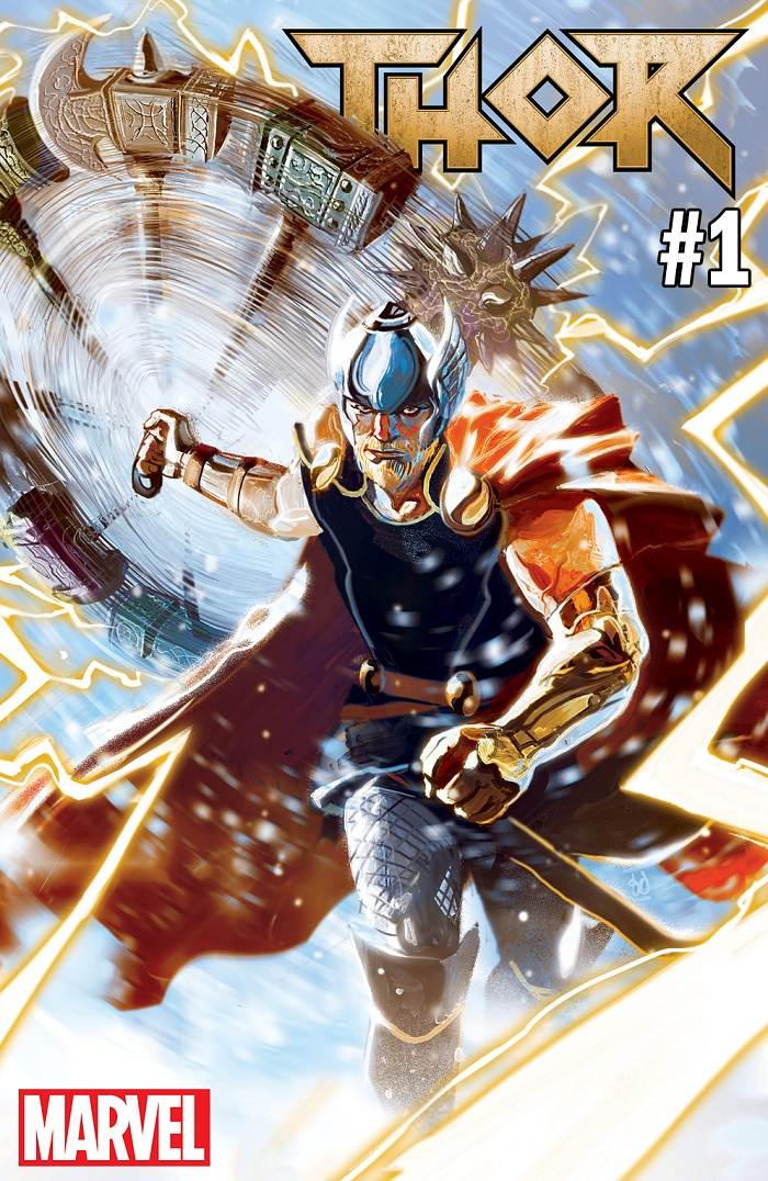 THOR2018_001_CVR THOR #1 to feature all-new creative team and all-new direction