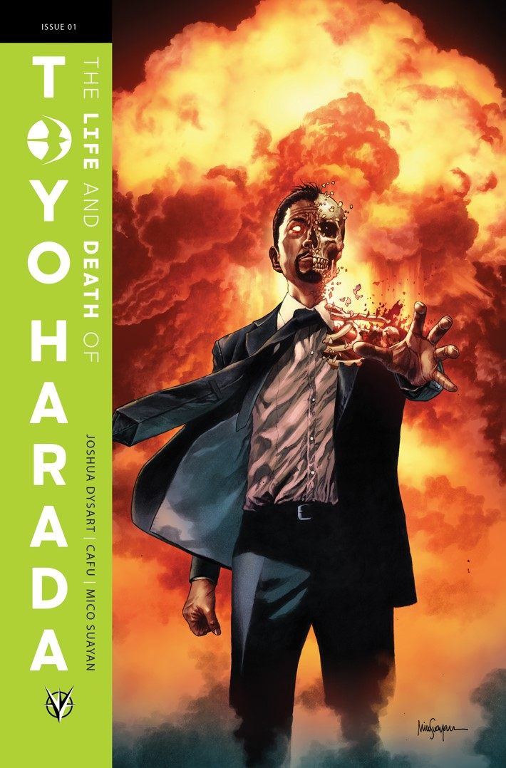 TOYO_001_COVER-A_SUAYAN THE LIFE AND DEATH OF TOYO HARADA #1 to feature a glass variant